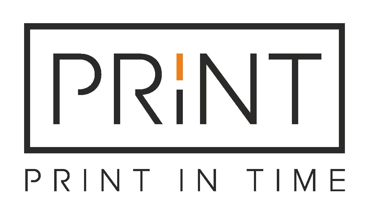 Print in time be fono juodas